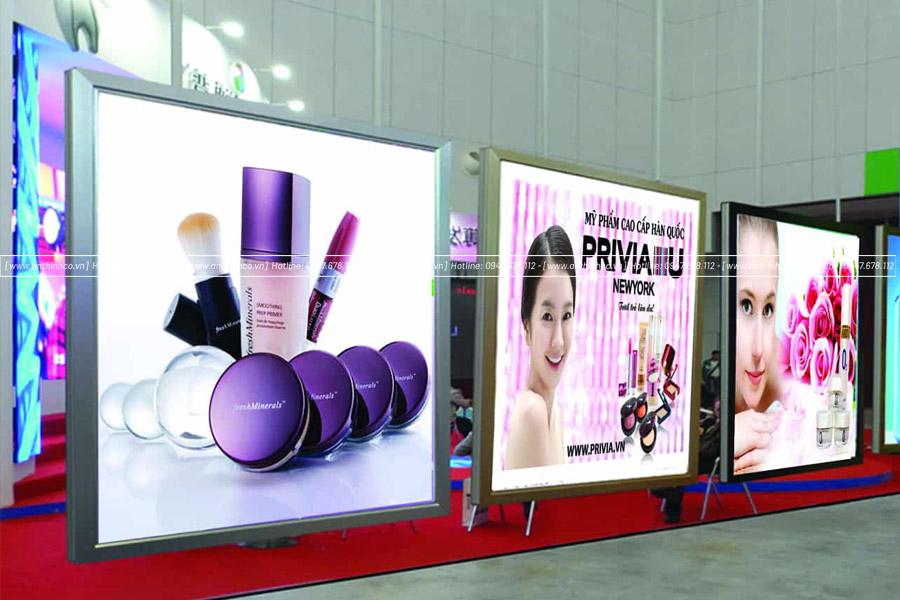lightbox quảng cáo mỹ phẩm